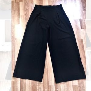 Eileen Fisher Stretch Crepe Wide Leg Pants